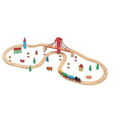Toys For Play Train Set (50-piece)