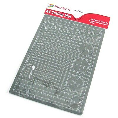 Self-sealing A4 Cutting Mat - Humbrol Modelling Scale Angle Markings Square