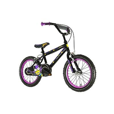 The Simpsons Boy's Bartman Bike - Multicoloured, 16 Inch