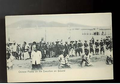 Mint  RPPC China Pirates About to be executed Postcard