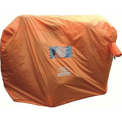 2-3 Person Emergency Survival Shelter - Highlander 23 Orange