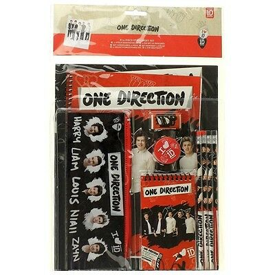 11 Piece One Direction Stationery Set