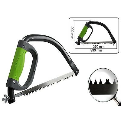 300mm Chrome Plated Pruning Saw - Silverline 229062 Compact Tree 380mm Bow