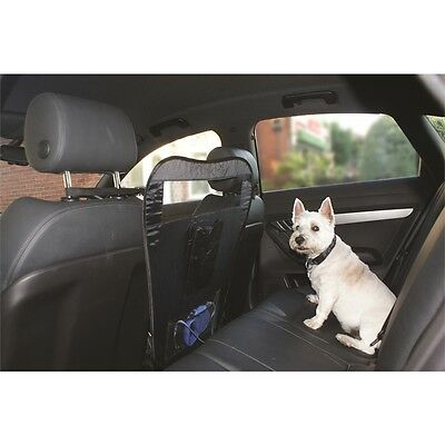 Car Front Seat Pet Barrier - Van Interior & Dog Cat Safety Protection Guard