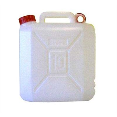 10l Plastic Jerry Can Water Carrier - Yellowstone Outdoor Camping Caravan
