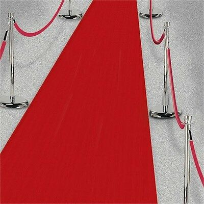 Amscan International Red Aisle Runner Hollywood - Party Accessory Decoration