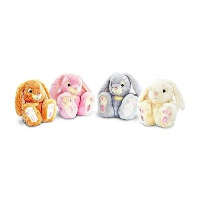 35cm Assorted Patchfoot Rabbit Soft Toys - Cuddly Plush Toy Bunny Pet Keel
