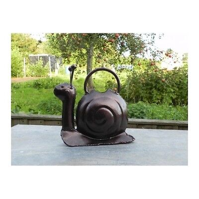 Bronze Snail Watering Can - Apples To Pears Small Handcrafted Galvanised
