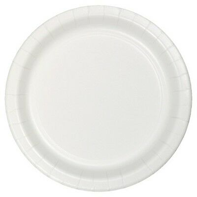 Costumes 203337 Frosty White Big Party Pack- Dessert Plates