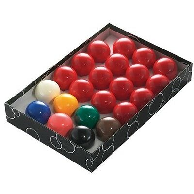 """2"""" Snooker Ball 22 Piece Set - 22pc Power Glide 2"""" Size Table Balls Pack Kit"""