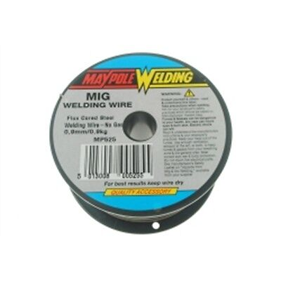 0.9mm 0.9kg Flux Wire Weld - Corded Spool Maypole Mp525 Workshop Accessories