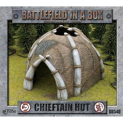 Battlefield In A Box Chieftains Hut - War Games Gaming Figure Figures Modelling