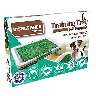 Puppy Training Litter Tray - For Puppies Artificial Grass Drain Easy Clean