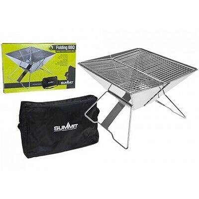 Family Size Ultimate Folding Barbeque - Luxury Bbq Fold Away Foldable Camping