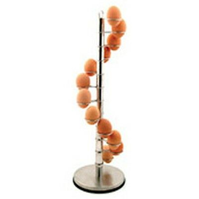 Large 12 Cup Spiral Egg Holder - - ( ) Stylish Storage Kitchen Accessory Tool