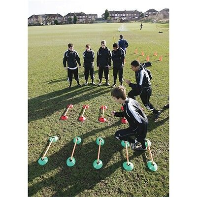 Speed Agility Coned Ladder Set - Precision Training Football Sports Accessory