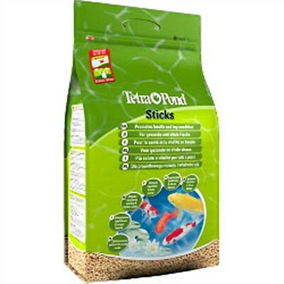 15l Tetra Pond Sticks Fish Food - (1680g) Vitamins Minerals Pet Care Feeding