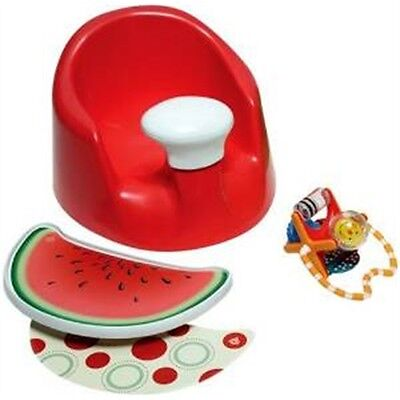 Prince Lionheart Bebepod Flex Plus Red - First Seat Baby Booster Learn To Sit