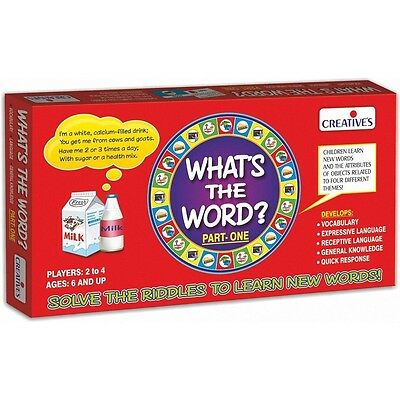 What's The Word? I Educational Game - Creative Games Whats Word 1 Kids Speaking