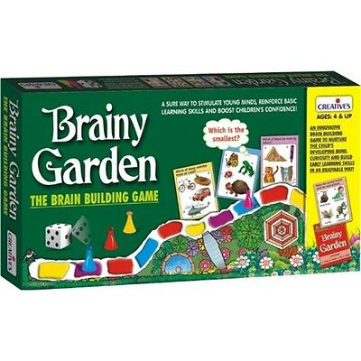 Brainy Garden Pre-school Game - Creative Kids Educational Early Learning Skills