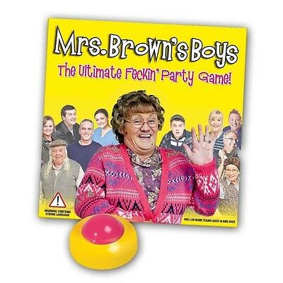 Mrs Brown's Boys Board Game - Paul Lamond Games Adults Family Party Group