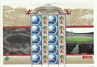 Australia Cricket 2006 Melbourne Centenary  Sheet Mnh