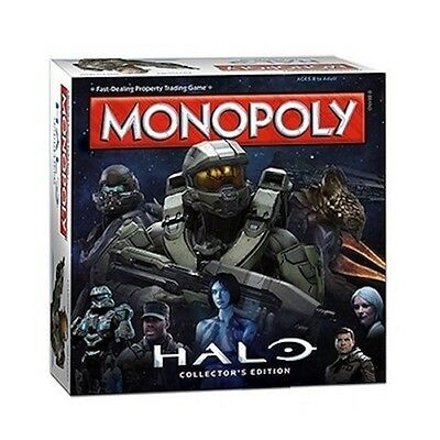 "Winning Moves ""halo"" Monopoly Board Game"