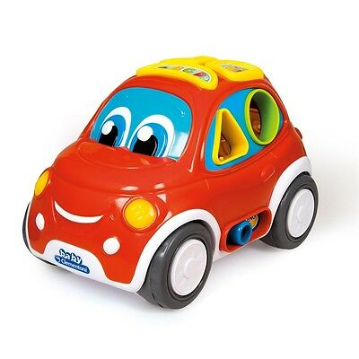 Baby 3-in-1 Interactive Shape Sorter Car - Clementoni 3in1