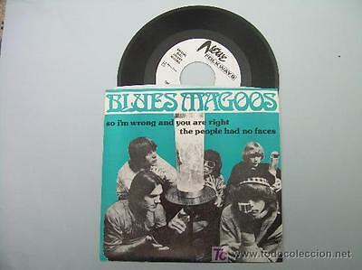 """7""""  Blues Magoos So Im Wrong Are You Are Right  Vinyl"""