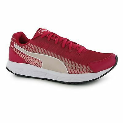 Puma Sequence Running Trainers Junior Girls Rose Red/Pink Sports Shoes Sneakers