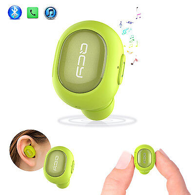 Mini Bluetooth Headset V4.1 Wireless Invisible In-ear Earbud Headphones With MIC