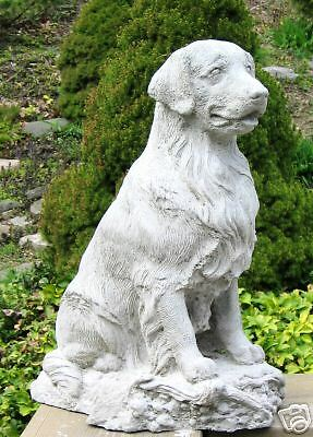Concrete Golden Retriever Dog Statue/ Monument (Beautiful Statue) You Will Love