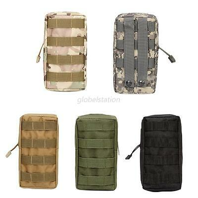 1X Molle Tactical Magazine Dump Drop Pouch Military Vest Outdoor First Aid Bag