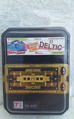T Gauge railway 1:450 scale tg-055 deltic electric class 55 brass body kit.NEW