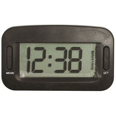 Jumbo Digital Car Clock With Large Digits - In Vehicle Stick On Dashboard Time