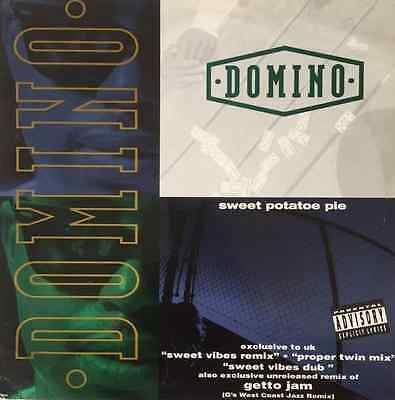 "DOMINO ‎- Sweet Potatoe Pie (Remixes) (12"") (VG-/G)"