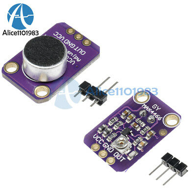 New GY-MAX4466 Electret Microphone Amplifier with Adjustable Gain for Arduino