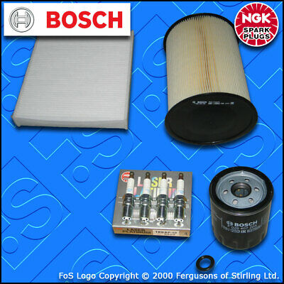 SERVICE KIT for FORD FOCUS MK2 1.8 16V OIL AIR CABIN FILTERS PLUGS (2007-2010)
