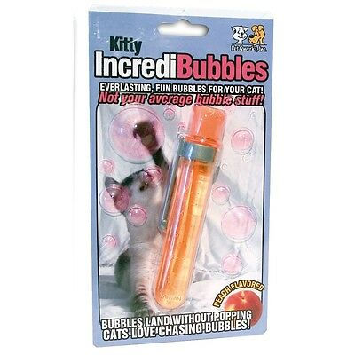 Kitty Bulles Anti- Pop Jouet Pour Chat - Les Incredibubbles De Minou De