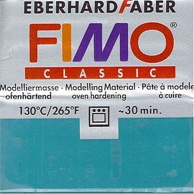 Fimo Classic Modelliermasse, Türkis