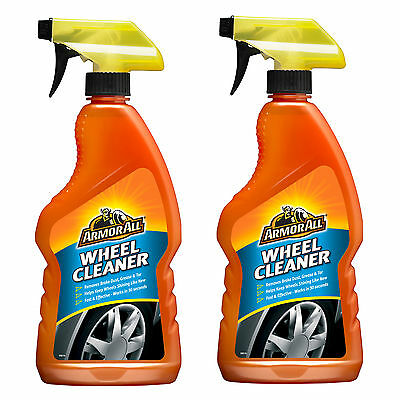 2 x Armorall Wheel Cleaner Car Alloy Wash Brake Dust Grease Tar Remover 500ml