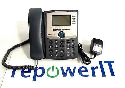 Linksys Cisco SPA942 IP Phone with stand, power supply - QTY IN STOCK - WARRANTY