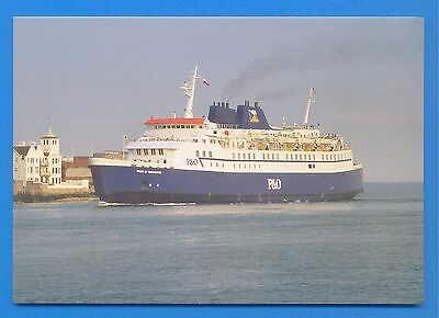 Pride Of Winchester.p&o Ferries.portsmouth-Cherbourg Ferry.postcard