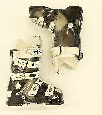 Used Atomic Hawx 80 Black and White Ski Boots Women's