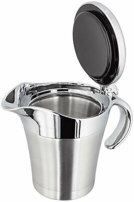 Judge Thermal Insulated Double Walled Chrome Gravy Custard Sauce Jug