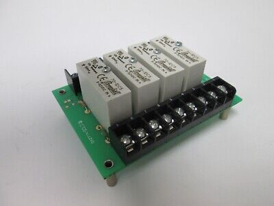 I/O Board with 4x Grayhill 70-IDC5 Input Relay Modules, Supply: 3-32VDC 10mA