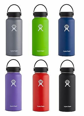 Hydro Flask Vacuum Insulated Stainless Steel 32 oz Bottle Wide Mouth