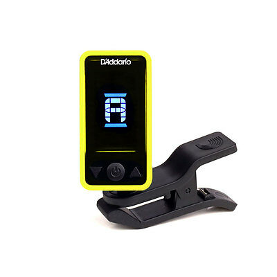 D'Addario Planet Waves Eclipse Headstock Tuner - Yellow