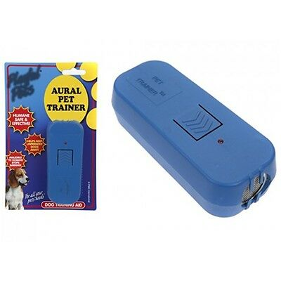Ultra Sonic Aural Pet Trainer - Ultra Dogs Cat Repellent Barking Buster 965