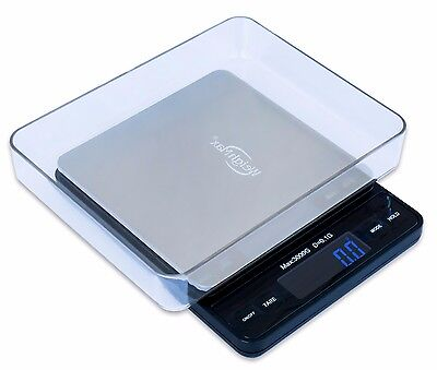 Weighmax Digital 3000 x 0.1g Pocket Scale, light-weight kitchen and postal scale